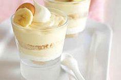 Easy Banana Pudding Parfaits recipe #kraftrecipes