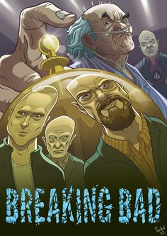 Breaking Bad Poster by Paul Tinker, via Behance