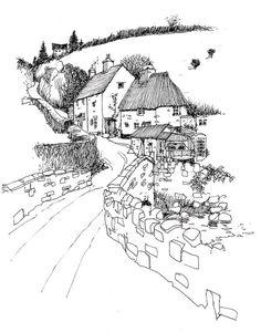 wanstrow. Art journal / sketchbook inspiration.