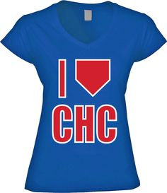 03a680bfcd1 I HP Chicago - Womens VNeck. America s Finest Apparel