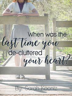 Heart-clutter sneaks