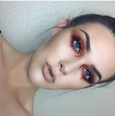 eye look: created with morphe 35o palette using 2 colors