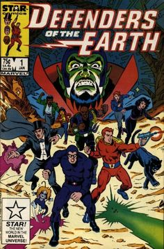 Image result for defenders of the earth star comics
