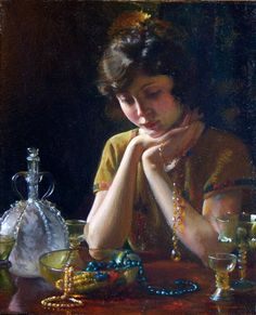 Heirlooms  Charles Courtney Curran