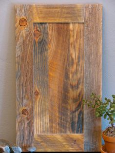 Cabinet Door Reclaimed Wood Flat Panel By 5thstreetwood Wooden