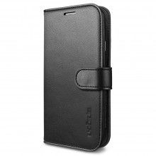 Forro Samsung Galaxy S5 Spigen SGP Wallet S Negra $ 58.100,00