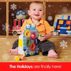 Get in that Holiday spirit with P'kolino. Bring your kids the perfect playfully smart gift: