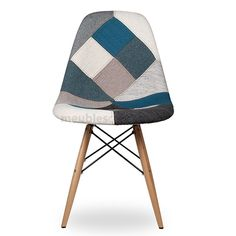 Chaise ralf patchwork bleu scandinave pinterest for Chaise scandinave patchwork bleu