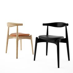 Free 3d model: CH 20 Elbow Chair by Hans Wegner