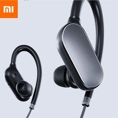 ea33abe6c68 Original Xiaomi Sport In-ear Earhooks Wireless Bluetooth Headset Earphone  With Mic Samsung Accessories,