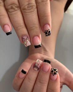 Acrílicas +semipermanente 💅agenda tu cita al  Whatsapp📲 3114374180 #acrilicas #nailscolombia #uñasconamor #uñasdecoradas #nailsmedellin #nails Latest Nail Art, New Nail Art, Fall Nail Art, Cute Nail Art, Elegant Nails, Stylish Nails, Gorgeous Nails, Love Nails, Super Cute Nails