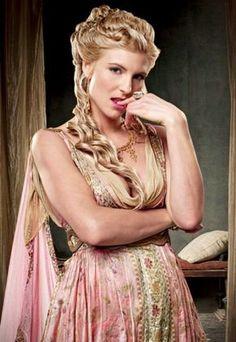 Viva Bianca as Ilithyia - Spartacus: Blood & Sand Promo