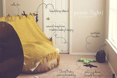 Beautiful Photo Props: Behind the Scenes: The Newborn Photography Studio