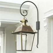 Large Canterbury Outdoor Lantern made by Jim Lawrence