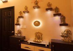 Pooja Room Mandir Archives - Pooja Room and Rangoli Designs Temple Room, Home Temple, Mandir Design, Pooja Room Design, Indian Room, Indian Home Decor, Temple Design For Home, Altar, Indian Interior Design