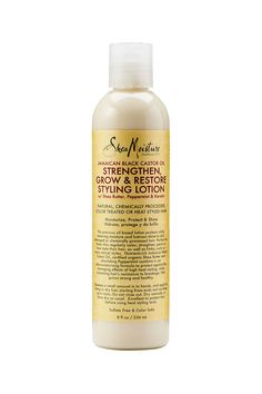 Jamaican black castor oil strengthen grow & restore styling lotion w/ shea butter peppermint & keratin