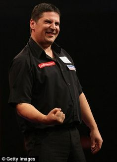 "The 2011 PDC Premier League champion, and now the current PDC world champion, ""The Flying Scotsman"" Gary Anderson."