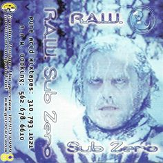 """thebest90sravecovers: """"R.A.W. – Sub Zero (1998) """""""