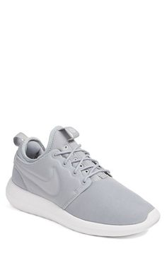 Nike Roshe Two Sneaker (Women) at Nordstrom.com. The epitome of streamlined simplicity, an ultra-lightweight sneaker can be worn with or without socks for serious styling versatility. A triple layer of cushioning and a padded collar make sure every step is a comfy one. A waffled outsole provides traction, and an inner sleeve adds cushioning without extra weight.
