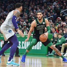 Celtics Basketball, Jayson Tatum, Boston Celtics, Nba Players, Hornet, Football, Running, Boys, Sports
