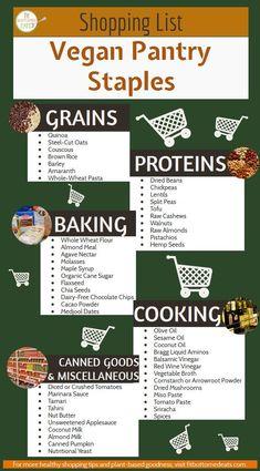 Behold the ultimate vegan grocery shopping list! Behold the ultimate vegan grocery shopping list! Behold the ultimate vegan grocery shopping list! T Shirt Vegan, Proteine Vegan, Vegan Food List, How To Vegan, Vegan Egg, How To Become Vegan, Vegan Butter, Shopping List Grocery, Vegetarian Shopping List