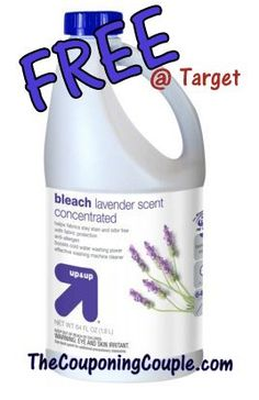 Target FREEBIE through 4/5 ~ FREE 64oz Bleach!  Click the link below to get all of the details  ► http://www.thecouponingcouple.com/free-bleach-at-target-right-now-thru-4-5-grab-your-freebie/
