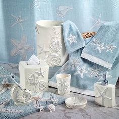 Avanti Sequin Shell Bath Collection - JCPenney