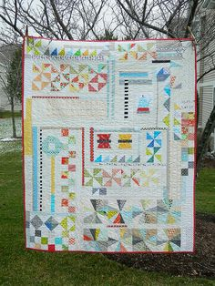 the puzzle {finished quilt} by s.o.t.a.k handmade, via Flickr