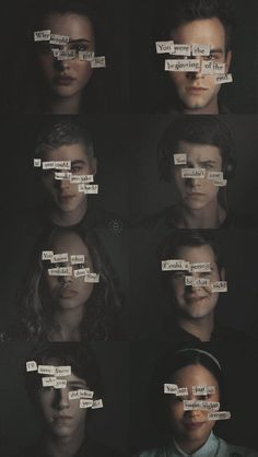13 Reasons Why Netflix Poster 8 Posters Pinterest 13