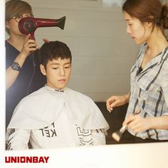 Park Seo Joon, Kim So Hyun, & Lee Hyun Woo Are Stoked For The End Of Summer For UNIONBAY's Fall 2014 Ads