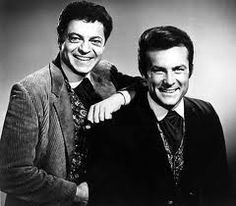 Robert Conrad and Ross Martin as James T. West and Artemus Gordon in the t.v. - The Wild Wild West