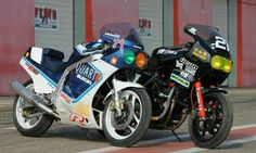 Gsxr and Vfr