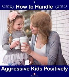 If you're a parent, it's nothing new for you to see your kids get aggressive for no rhyme or reason. However, there may be some underlying reasons. We as parents need to be in a position to understand them. Here are some tips for parents to deal with themselves and their aggressive children in a positive way, such that both your child and you are eventually happy. More at the blog. :)