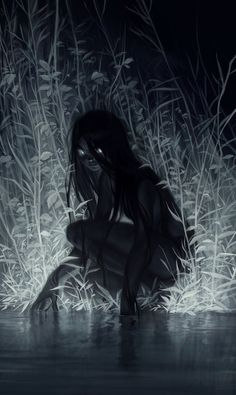 Kunst Zeichnungen - nocturne by Loish on Deviantart, Darkness, Character Design, Digital Painting, D. Arte Horror, Horror Art, Creepy Horror, Dark Fantasy Art, Fantasy Artwork, Art Sinistre, Art Noir, Arte Obscura, Inspiration Art