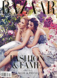 Dannii Minogue and Kylie Minogue - Harper's Bazaar Magazine Cover [Australia] (December Fashion Magazine Cover, Fashion Cover, V Magazine, Fashion Show, Magazine Covers, Trendy Fashion, Magazine Stand, Design Magazine, Luxury Fashion