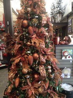 Bronze Christmas tree