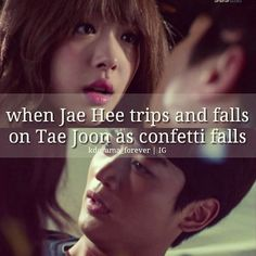 To the Beautiful You~~~ that was really an awesome moment.
