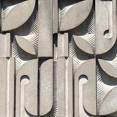 Style, women's wear & design moodboard by JJDR Model Architecture, Architecture Design Concept, Architecture Details, Deco Design, Wall Design, Motif Vintage, Ceramic Wall Art, Paperclay, Brutalist