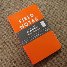 FIELD NOTES Expeditions