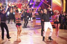 Ricky Martin appears as a guest judge and performer on Latin night during week 7 of 'Dancing With The Stars' on April 28, 2014.