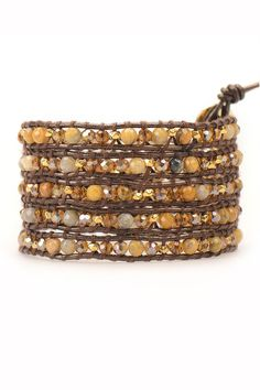 Your style under wraps. Our finest wrap bracelets boldly show off this seasons palette of colors through stones, crystals, nuggets and leather.