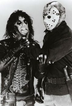 """Alice Cooper - Lead single released in 1986, """"He's Back (The Man Behind the Mask)""""."""