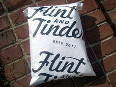 Custom Tyvek Shipping Envelopes for Flint & Tinder made in USA men's underwear.