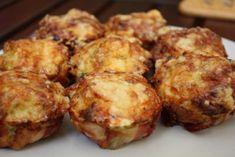 Muffin formában sült csirke - Szem-Szájnak Muffin, Baked Potato, Cauliflower, Chicken Recipes, Paleo, Food And Drink, Turkey, Healthy Recipes, Vegetables