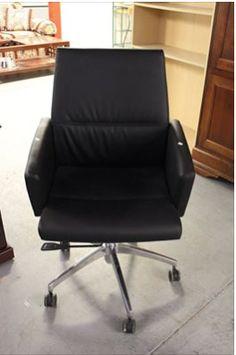 Sit back and relax! Enjoy working at your desk even more with a new leather office chair! 1501 South Main Street, High Point 10am - 6pm.