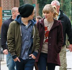 Harry with his ex Taylor Swift...happier now than then