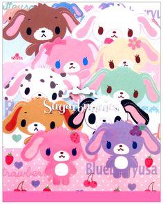 Sanrio Sugar Bunnies Die-Cut Large Memo