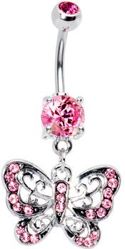 #Body Candy               #ring                     #Pink #Cutout #Butterfly #Belly #Ring #Body #Candy #Body #Jewelry             Pink Gem Cutout Butterfly Belly Ring | Body Candy Body Jewelry                                          http://www.seapai.com/product.aspx?PID=1195190