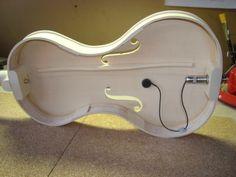 Cornerless Electro-Acoustic Violin | Hilmar Hansson Instruments