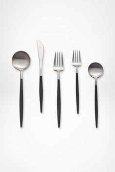 DVF Petite Collection Flatware (5 Piece Set) modern flatware